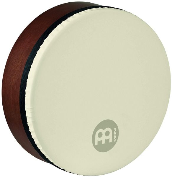 Meinl Percussion 12 inch Synthetic Head Bendirs Frame Drums - Brown - FD12BE-TF